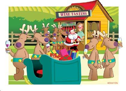 Santa Loves His Wine, Dracaena Wines