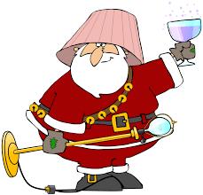 Santa Loves His Wine