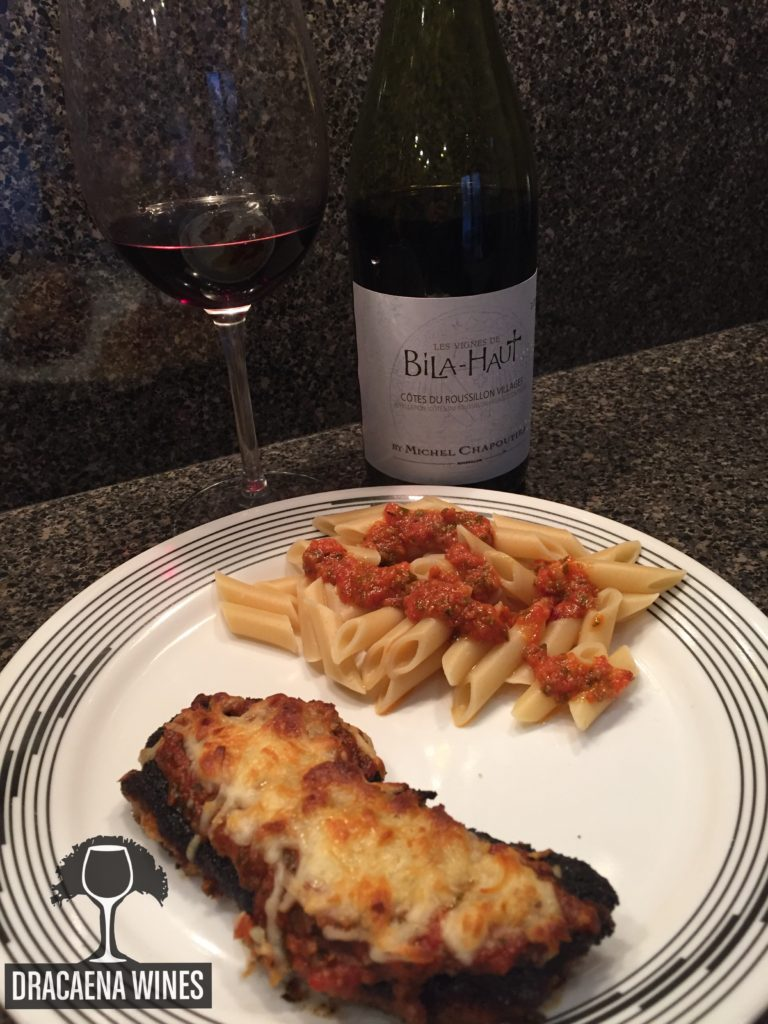 chicken parmesan, Exploring the Wine Glass